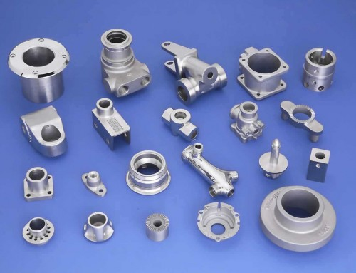 You make it with CNC machining parts